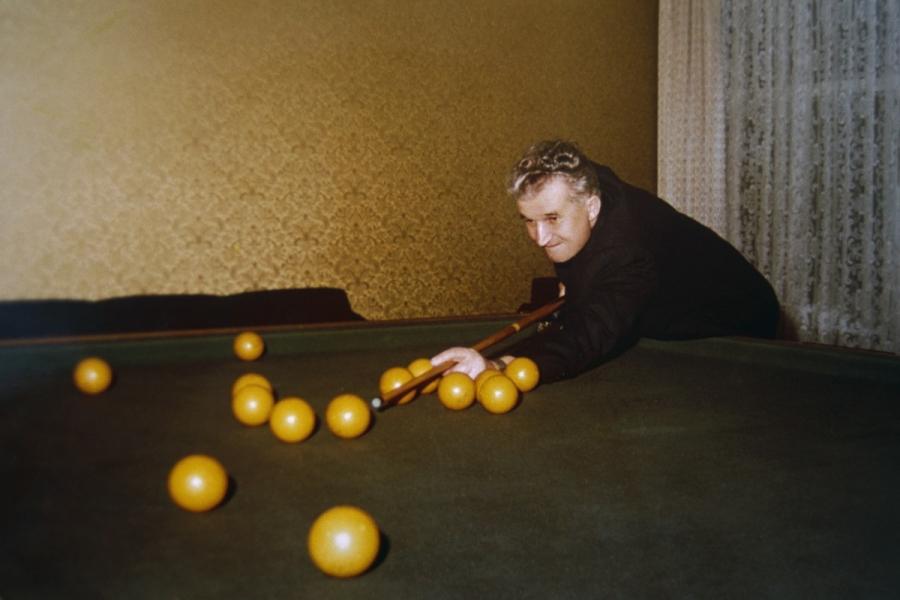 Ceaușescu snooker
