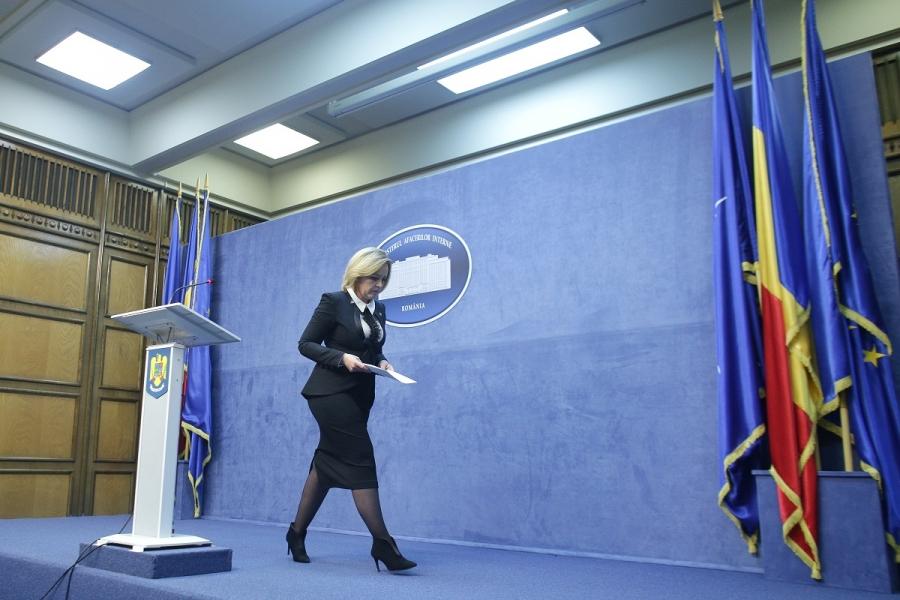 Carmen Dan la Ministerul de Interne