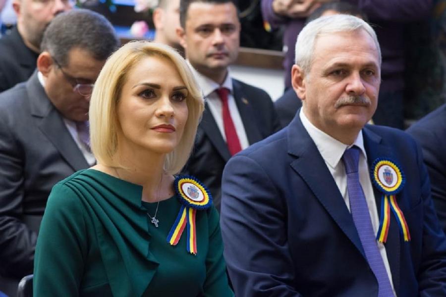 Gabriela Firea și Liviu Dragnea - Foto FB