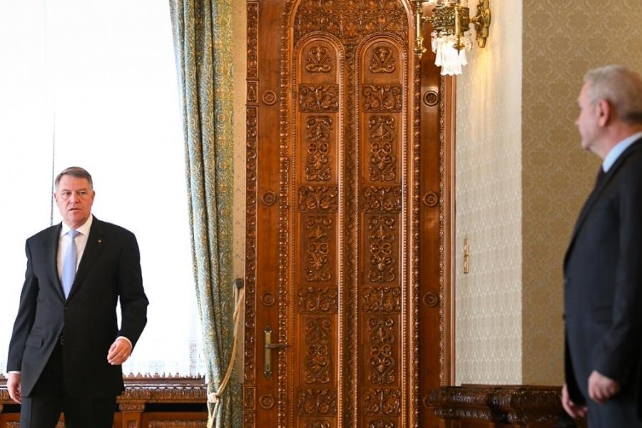 Întâlnire președinte Iohannis - PSD