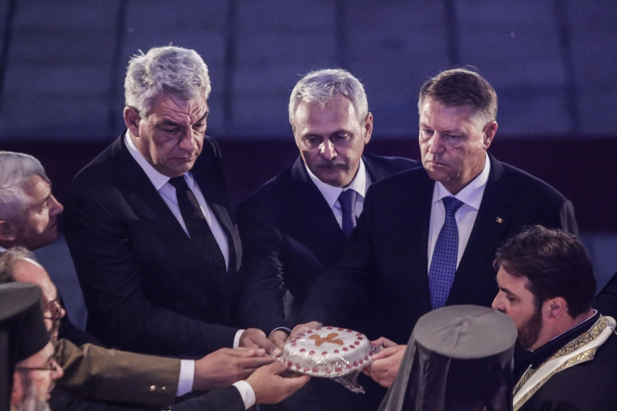 Iohannis - Dragnea - Tudose - colivă