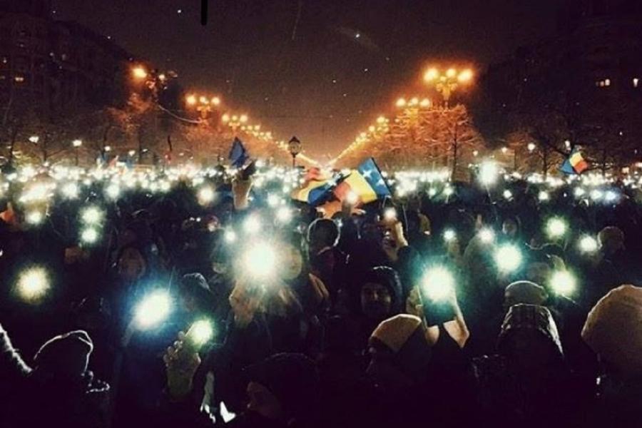 Revoluția luminii 20 ianuarie
