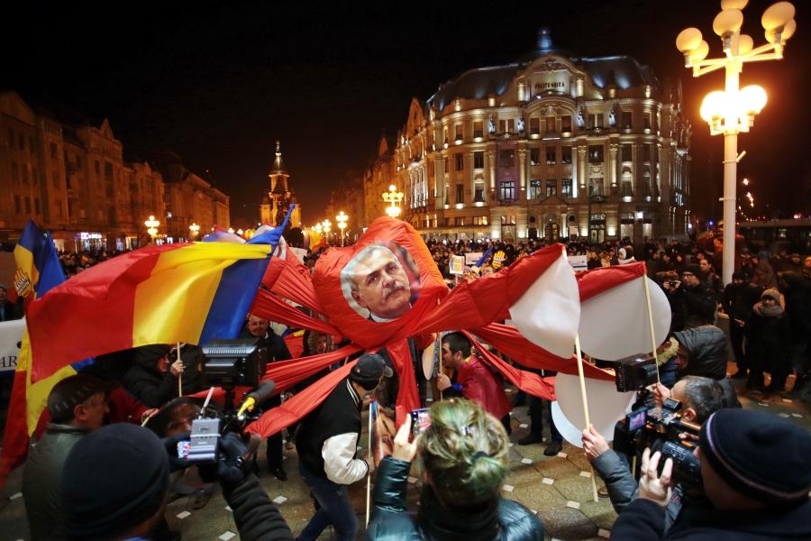 Protest 20 ianuarie - Inquam Photos / Virgil Simonescu