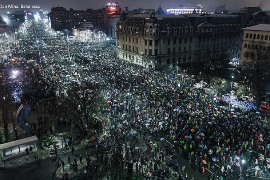 Protest - Bălănescu