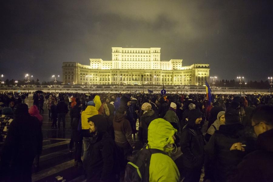 Protest 20 ianuarie - Cornel Putan