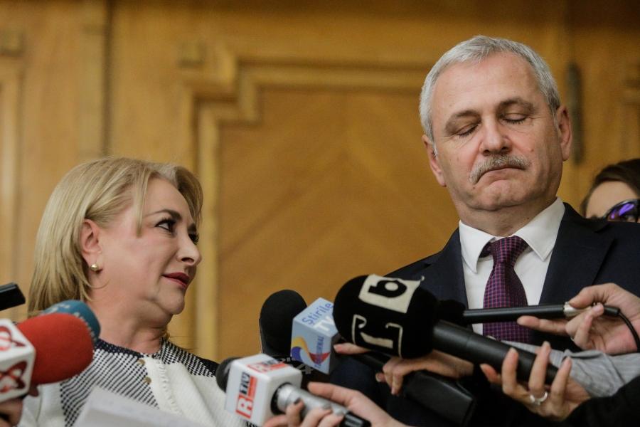 Viorica Vasilica Dăncilă - Liviu Dragnea - Foto George Călin