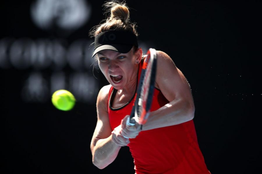 Simona Halep în finala Australian Open