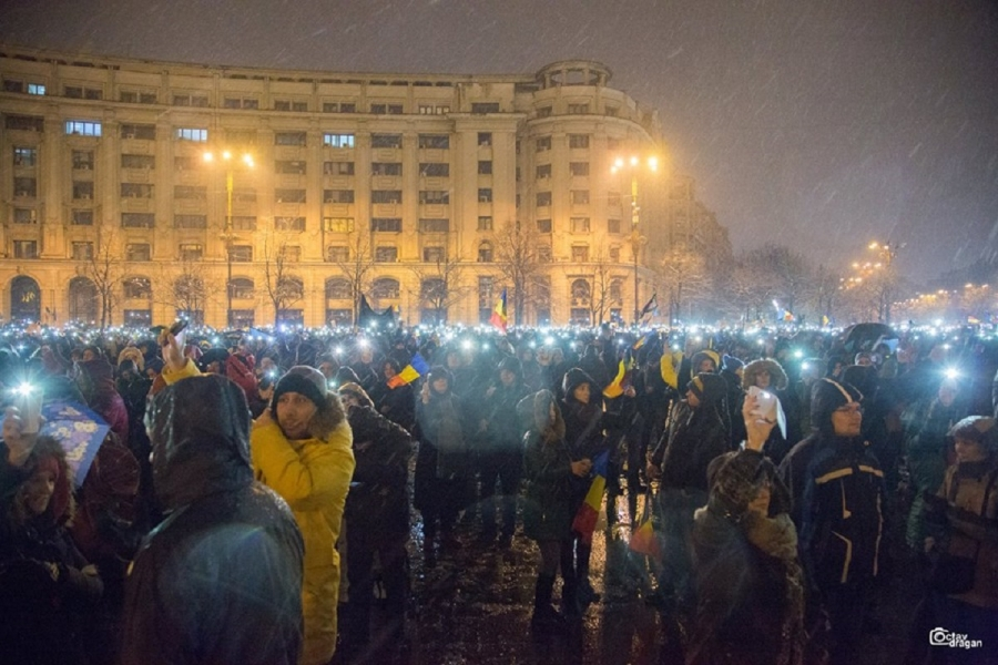 proteste 20 ianuarie - (Foto: Octav Drăgan)