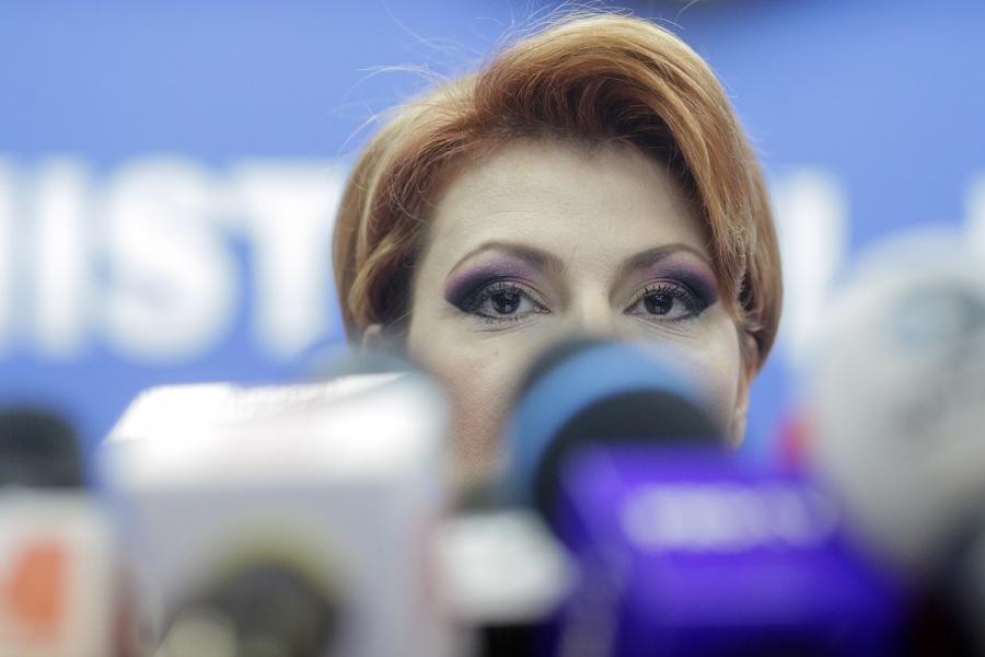 Ministrul Muncii, Lia Olguța Vasilescu, legea salarizării
