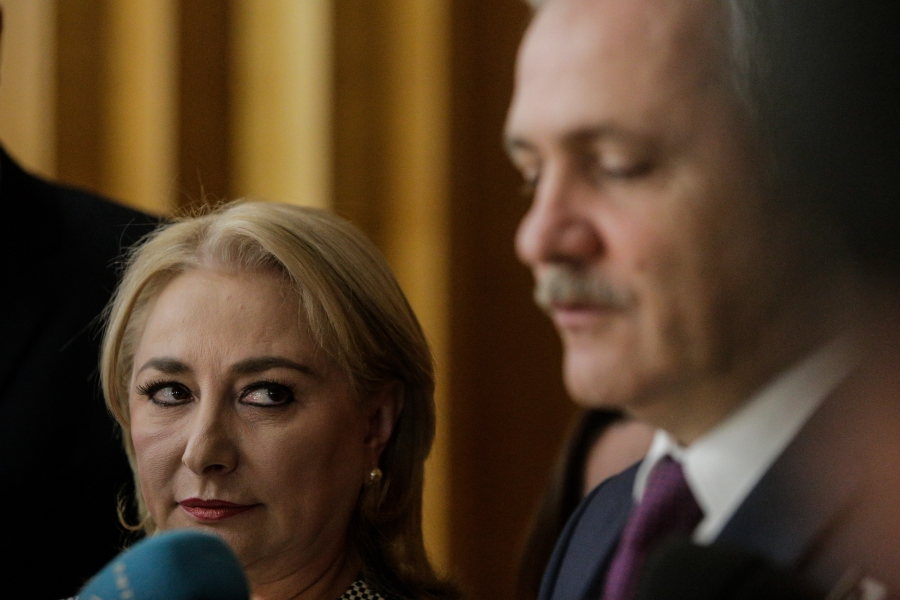 Viorica Dancila și Liviu Dragnea - Inquam Photos / George Calin