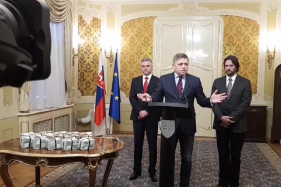 Robert Fico - un milion de euro