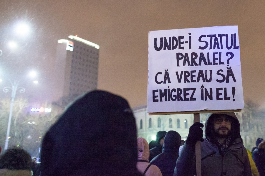 protest stat paralel