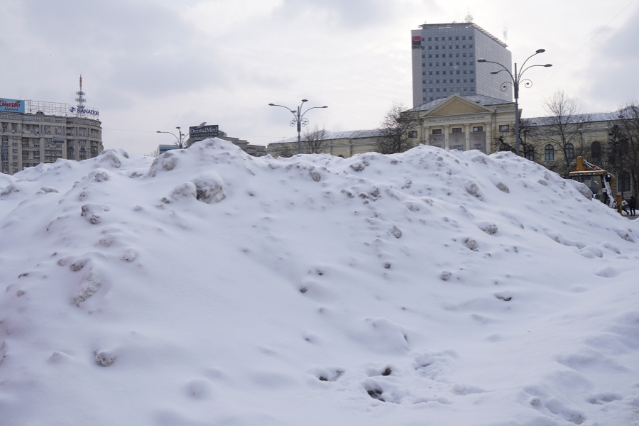 Zăpadă București