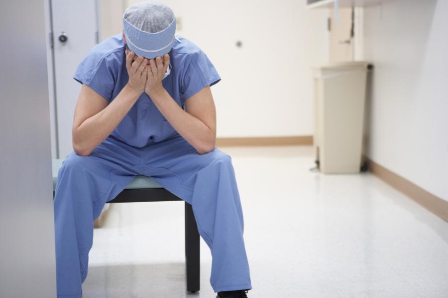 Medic stresat
