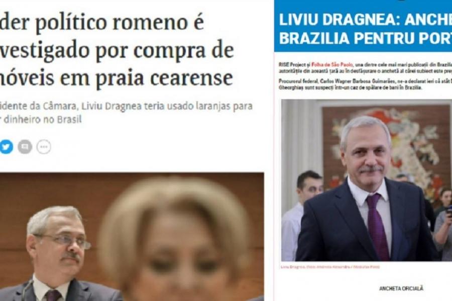 liviu Dragnea anchetat în Brazilia