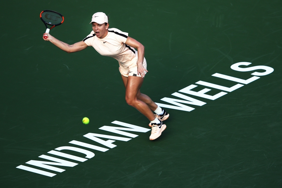 Simona Halep - sferturi la Indian Wells