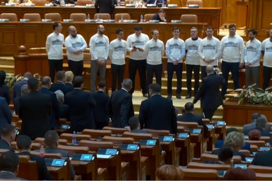 gherila USR in Parlament