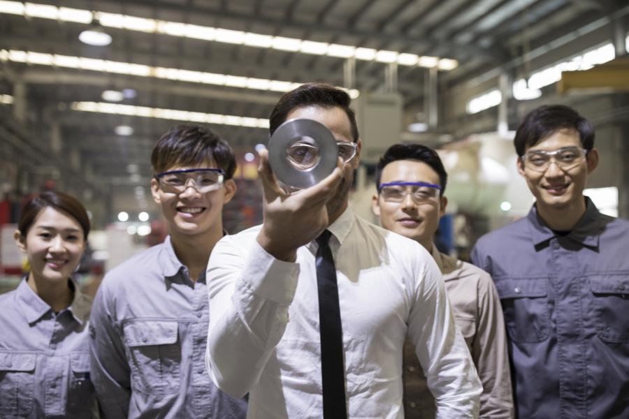 China - muncitori
