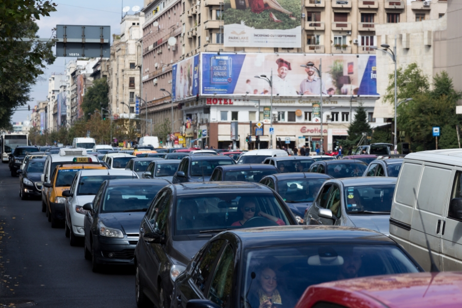 Trafic aglomerat București