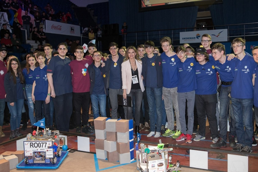 BRD FIRST Tehn Challenge - martie 2018