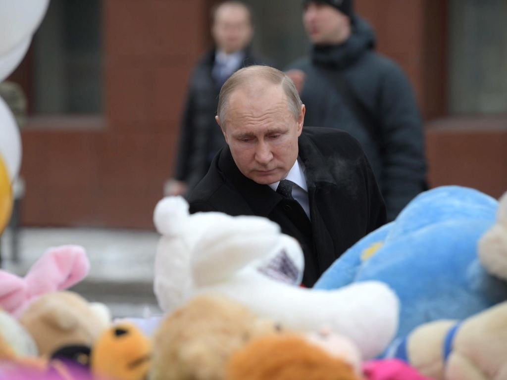 Putin la Kemerovo
