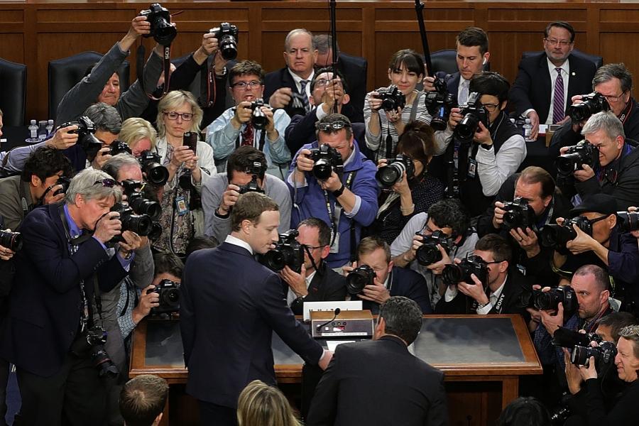 Mark Zuckerberg audiat