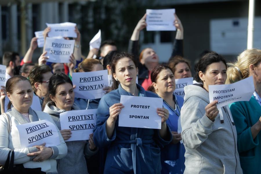 Protest in Sanatate