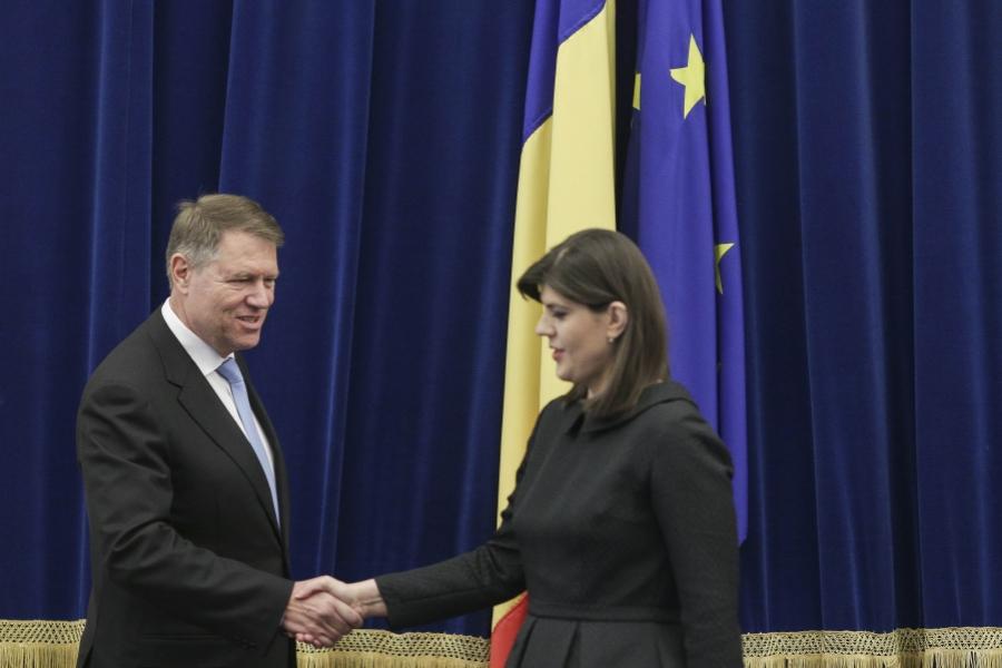 Klaus Iohannis - Laura Codruța Kovesi