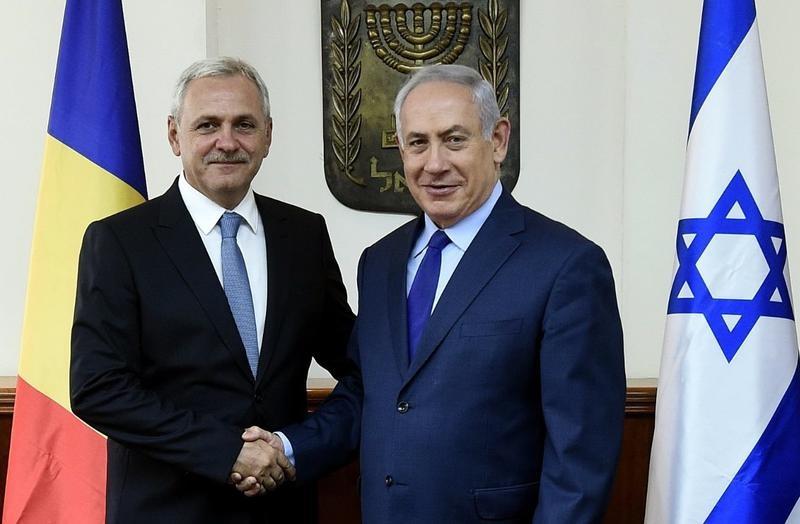 Dragnea și Netanyahu