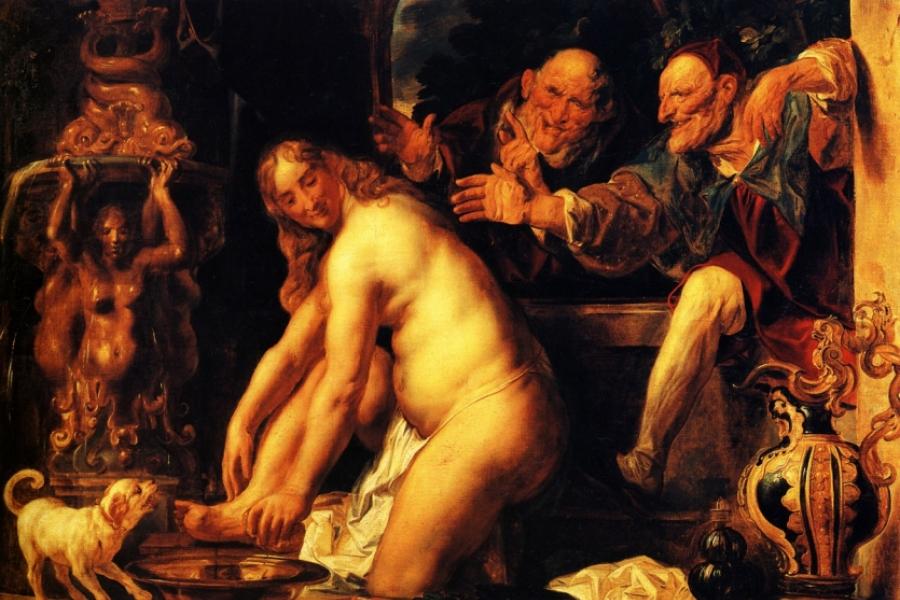 Jacob Jordaens - Suzana și bătrânii