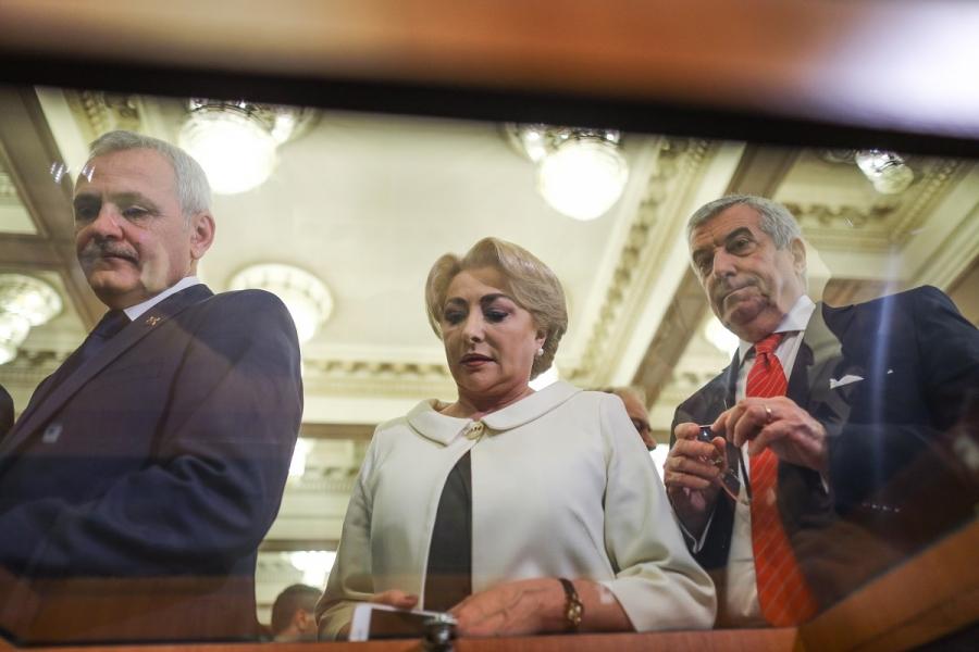 Liviu Dragnea - Viorica Dăncilă - Călin Popescu Tăriceanu