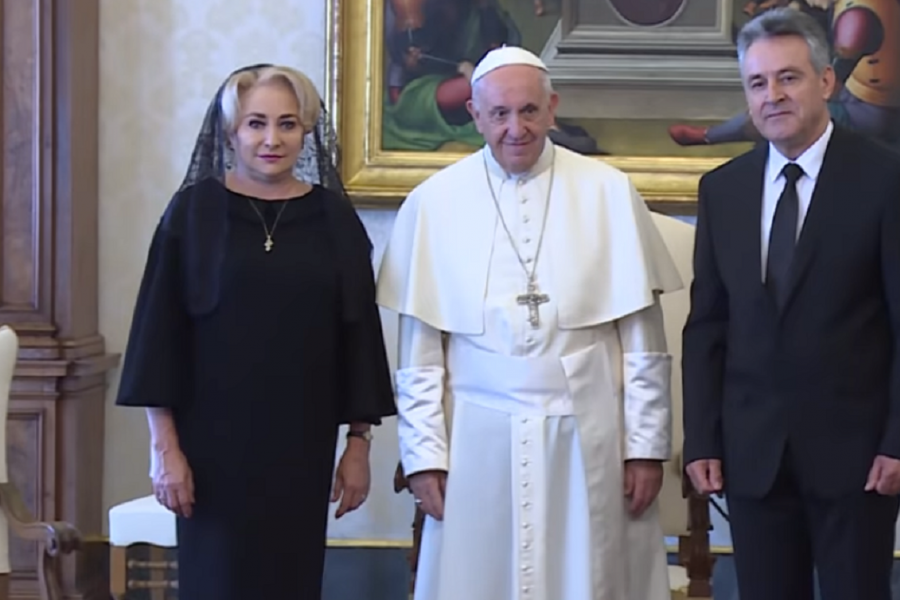 Dăncilă - Papa