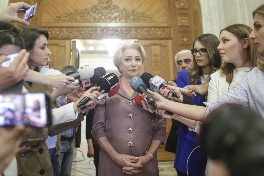 Viorica Dăncilă - Parlament