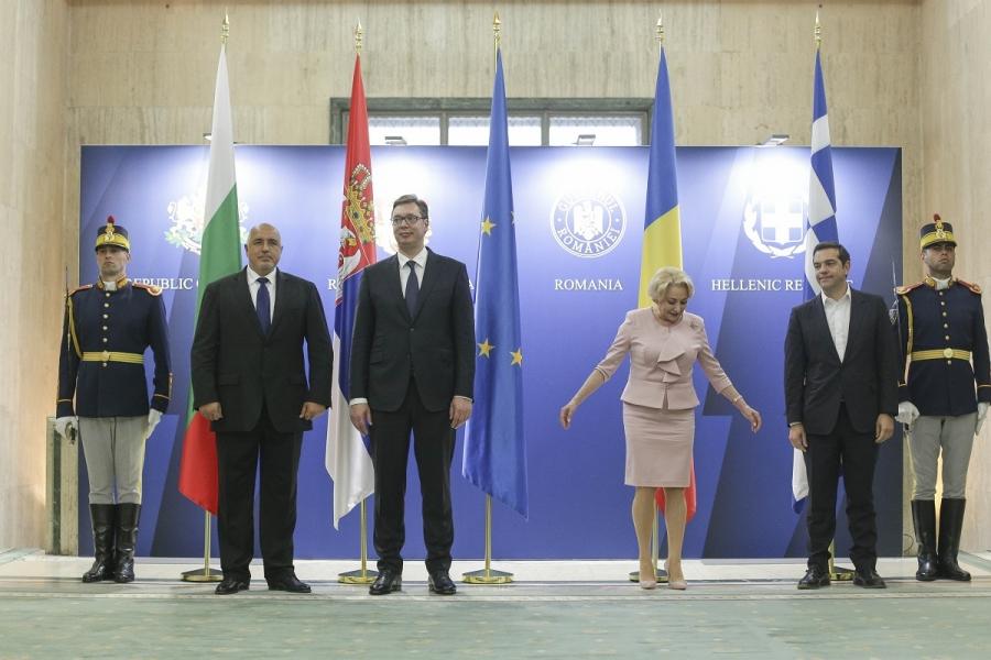 Viorica Dăncilă printre omologi -  Foto: Inquam Photos/ Octav Ganea