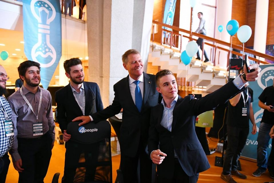Klaus Iohannis la Innovation Labs