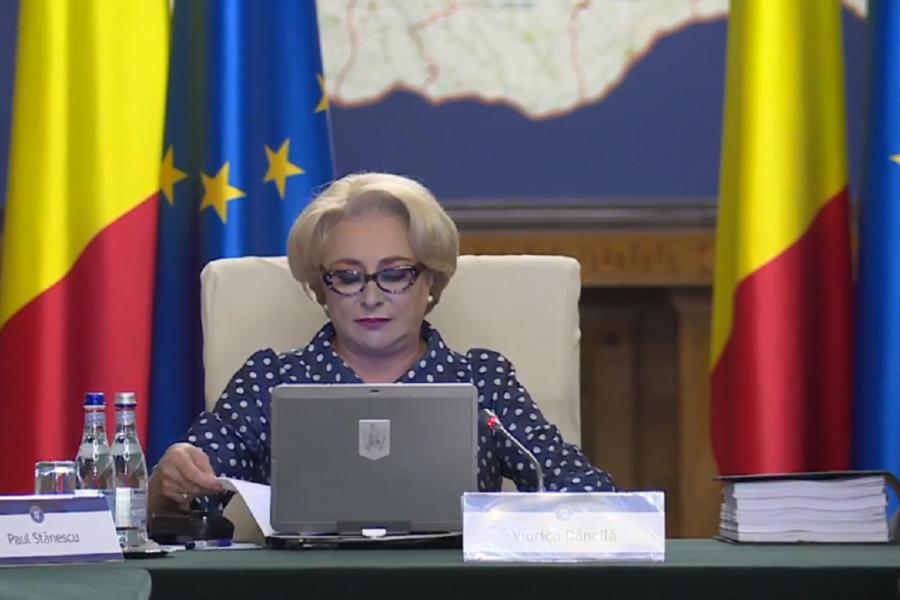 """Viorica Dăncilă - """"reducem democrația"""""""