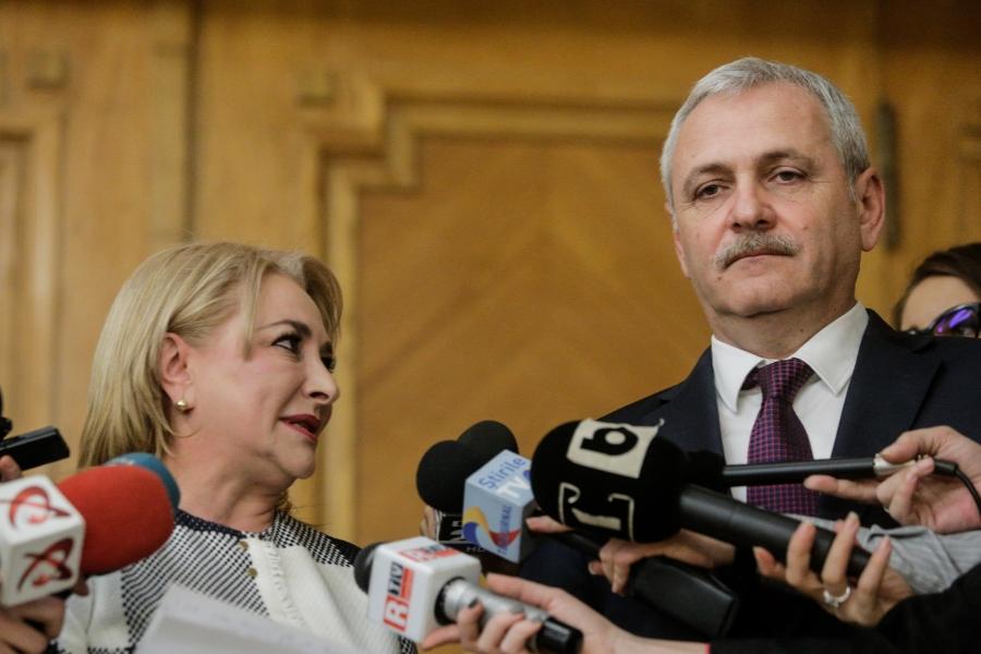 Viorica Dăncilă - Liviu Dragnea - (Foto: Inquam Photos / George Călin)