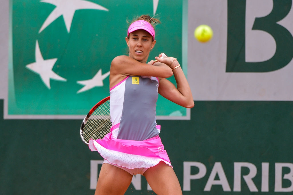 Mihaela Buzărnescu la Roland Garros