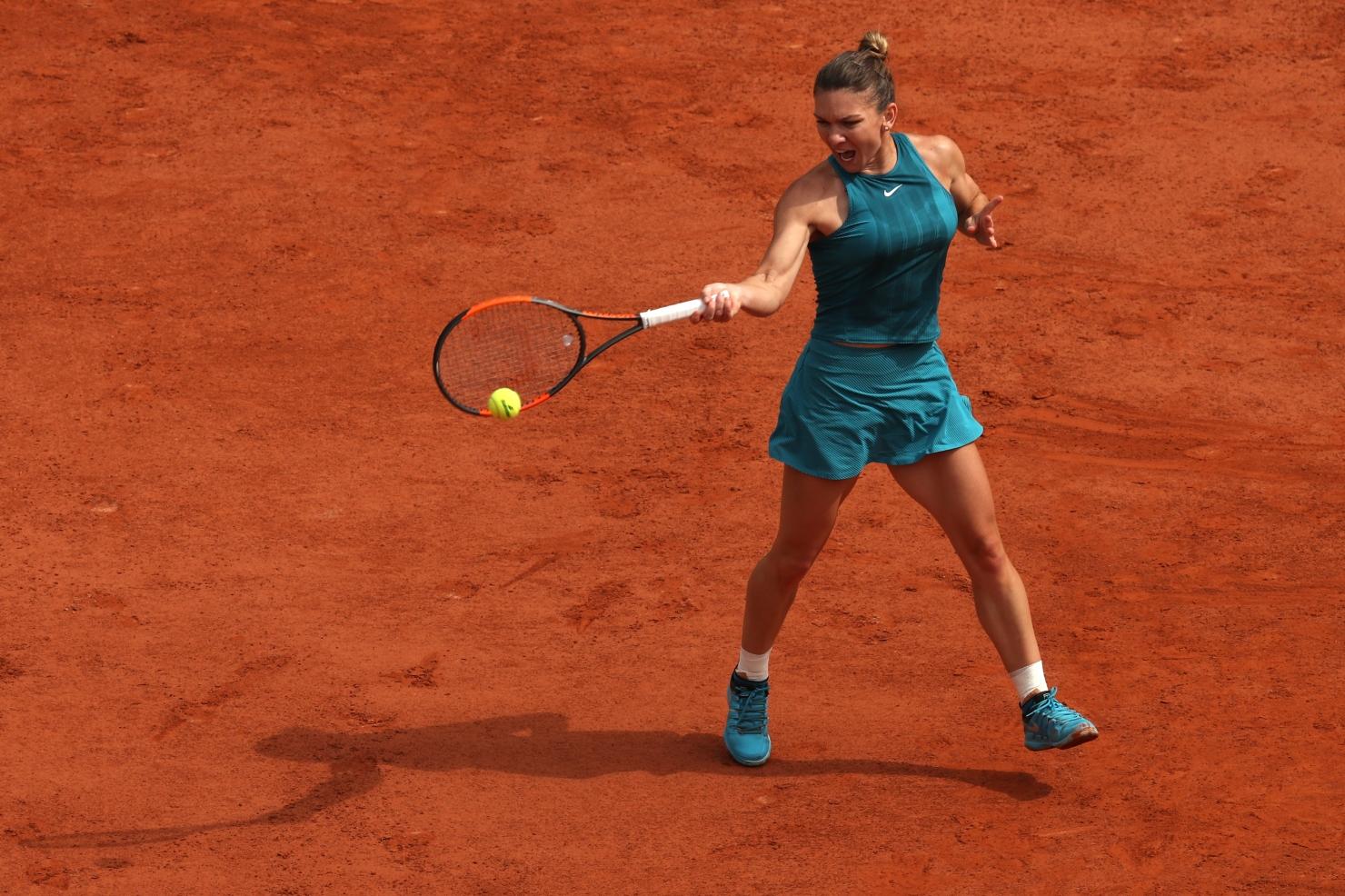 Simona Halep la Roland Garros