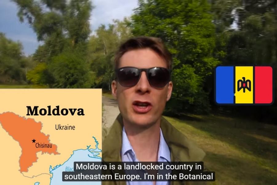 Conor Clyne, Moldova