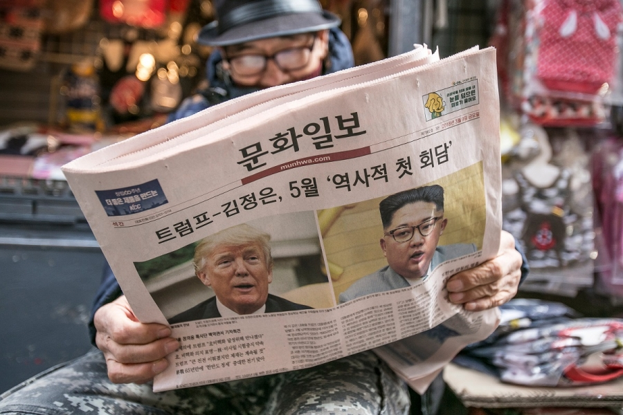 Trump - Kim Jong Un