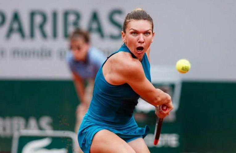 Simona Halep la Roland Garros 2018