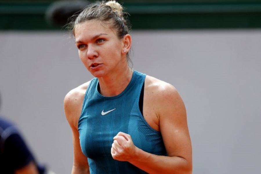 Simona Halep la Roland Garros2