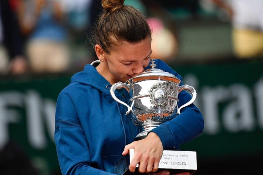 Simona Halep, câștigătoare la Roland Garros