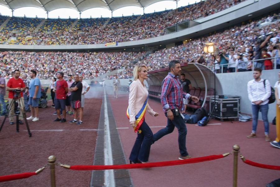 Gabriela Firea, pe Arena Națională