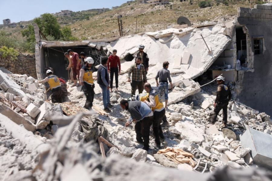 Bombardament în Siria