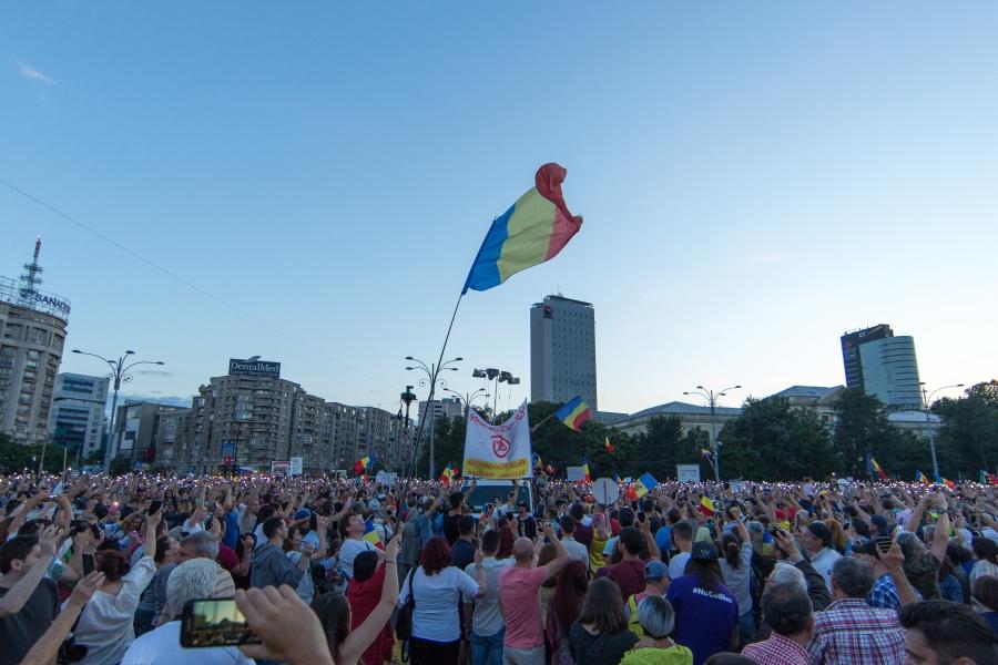protest - iunie - Foto: Inquam Photos / Bogdan Buda