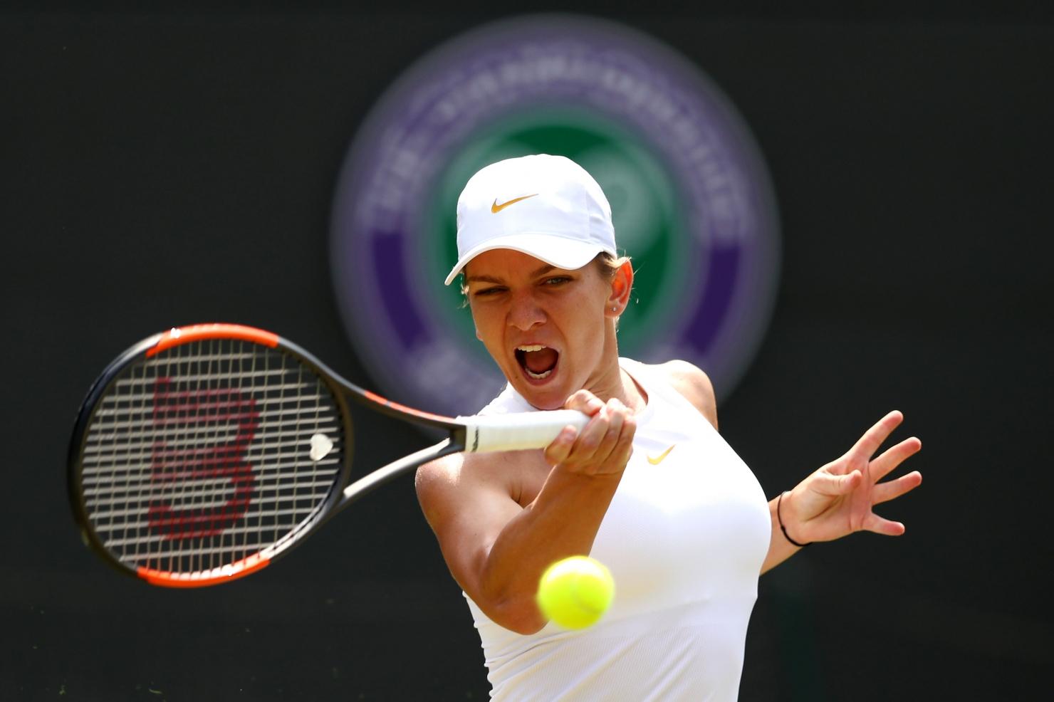 Simona Halep la Wimbledon 2018