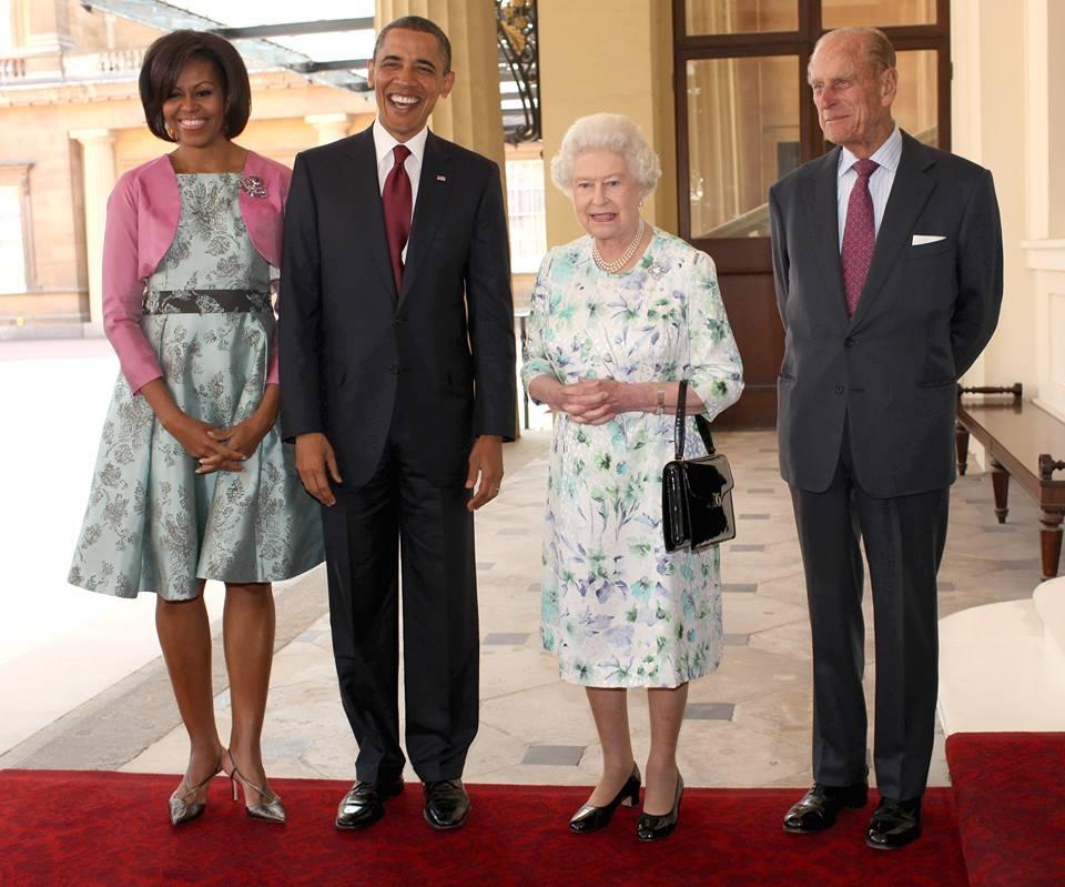Obama și Regina