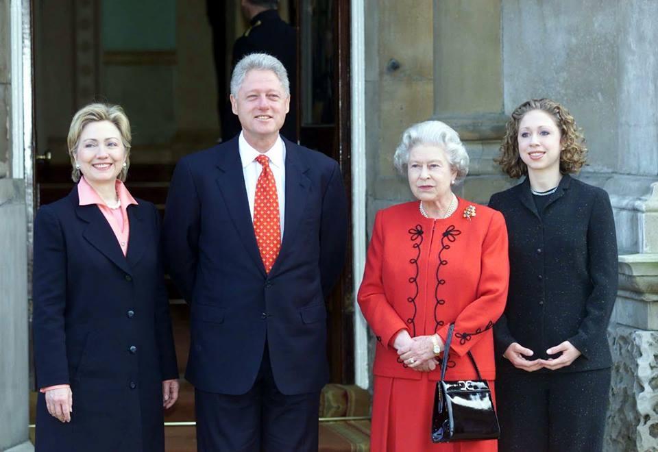 Clinton și Regina